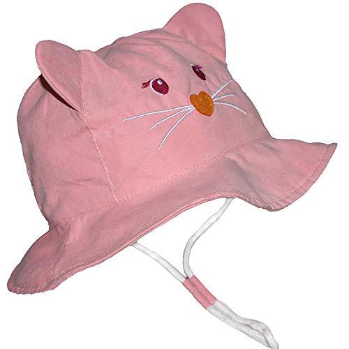 Toddler Bucket Hat Boy -Baby Kids Girl Reversible Sun Protection Animal Hat ()