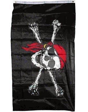 Makerfire NEW 3x5 Pirate w/ Red Bandana 3 x 5 Jolly Roger Ba