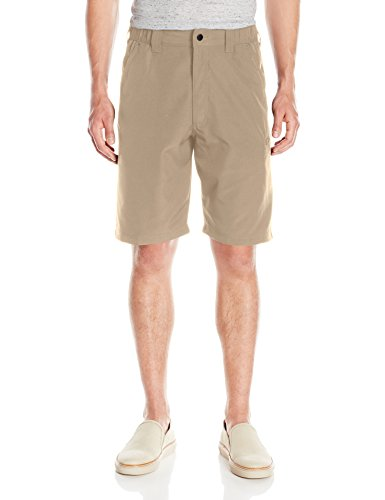 Wrangler Authentics Men's Side Elastic Utility Short,  Desert Sand, 30