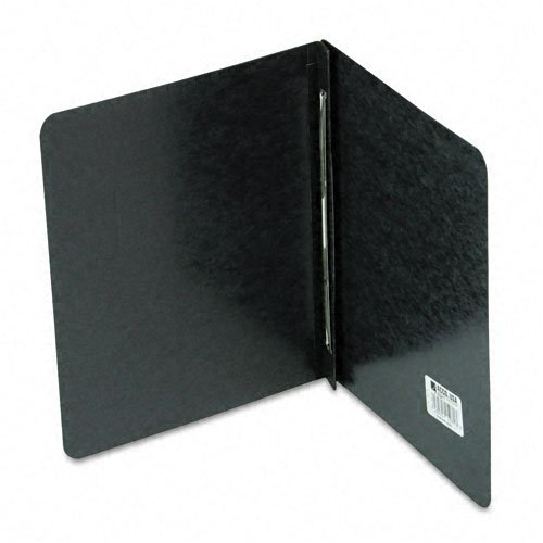 ACCO : Pressboard Report Cover, Prong Clip, Letter, 3quot; Capacity, Black -:- Sold as 2 Packs of - 1 -/- Total of 2 Each