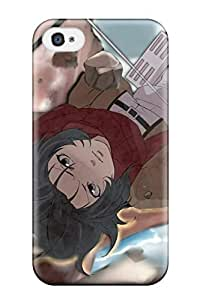 4620152K63214233 New Premium Attack On Titan Skin Case Cover Excellent Fitted For Iphone 4/4s