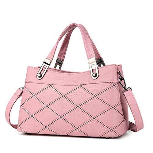 Messenger Shoulder Medioevo Messenger Fashion E Autunno Semplice Inverno Women's 2018 Spfazj Bag New Rosa UzxS0Rp