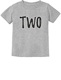 Tstars - 2nd Birthday Gift for Two Year Old Child Toddler Kids T-Shirt