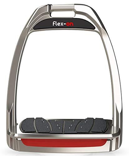 【 限定】フレクソン(Flex-On) 鐙 Parent ハンターレンジ Inclined ultra-grip 鐙 フレームカラー: シルバー レッド グレー エラストマー: レッド 82972 B07KMT1X54 Parent, スポーツ&カジュアル hiro:9acfce40 --- harrow-unison.org.uk