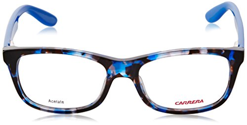 Carrera - CARRERINO 57 (FOR KIDS), Géométriques, acétate, homme, HAVANA BLUE(WA5), 49/15/125