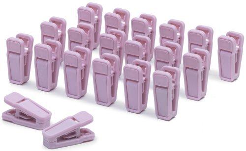 Slim Line Finger Clips Light Pink product image