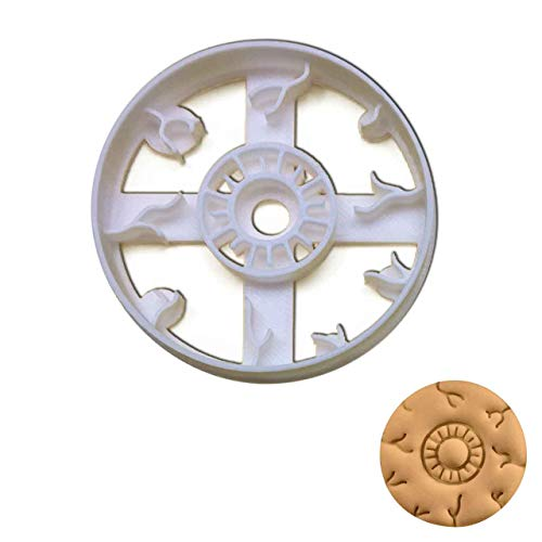 Anatomical Eyeball (Front) cookie cutter, 1 piece - Bakerlogy -