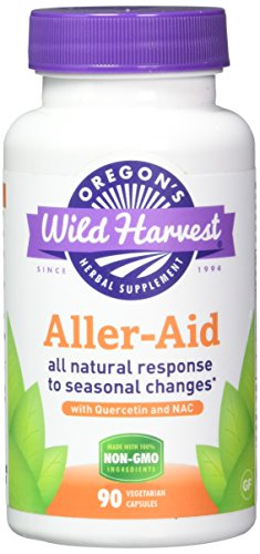 Oregon's Wild Harvest Aller-Aid with Quercetin Supplement, 90 Count