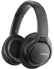 [Verbesserte]Mpow H7 Bluetooth Kopfhörer over Ear, over Ear Kopfhörer mit Kräftigen Bass-Sound, 18 Stunden Spielzeit, Memory-Protein Ohrpolster, CVC6.0 Mikrofon Freisprechen für Smartphone/PC, Rosa