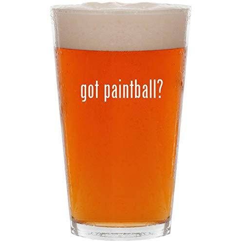 (got paintball? - 16oz Pint Beer Glass)
