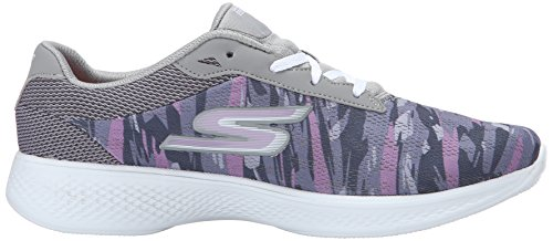 Skechers Performance 4 purple De Marche Gray Chaussure Go Excite rrwHx