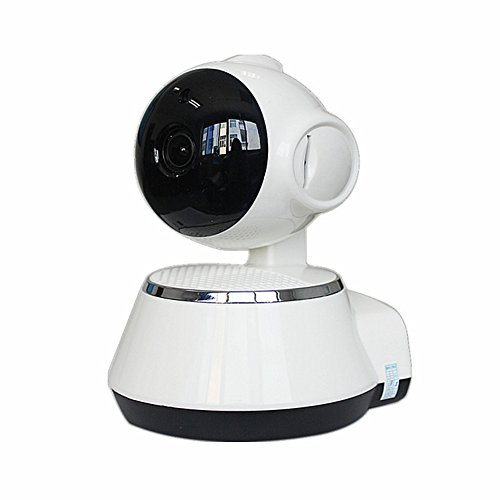 OMZBM Cámara De Seguridad Dome Wireless Home Sistema De Vigilancia Interior 720P HD Night Vision Bidireccional Que Habla...
