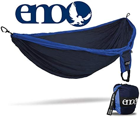 ENO – Eagles Nest Outfitters Double Deluxe Lightweight Camping Hammock, 1 to 2 Person