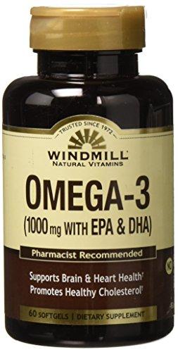 - Omega 3 SFGL 1000MG WMILL Size: 60