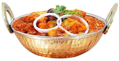 - IndiaBigShop Indian Copper Kadhai Kitchenware/Utensil Serveware/Serving Bowl Handmade Kitchen Accessory