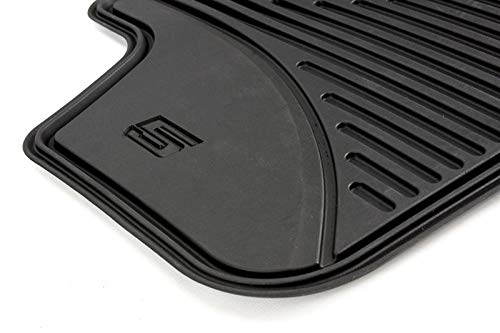 BMW Genuine All-Weather Rubber Front Floor Mats Anthracite F15 X5 51472347729