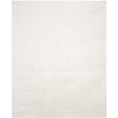 (Safavieh Mirage Collection MIR344W Hand-Knotted White Wool Area Rug (5' x 8'))