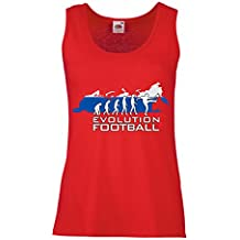 N4508P Female Tank top Evolution Football - Russia