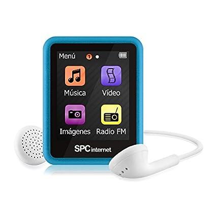 SPC 8294A 4GB Azul - Reproductor MP3 (Azul, Digital, Flash-Media ...