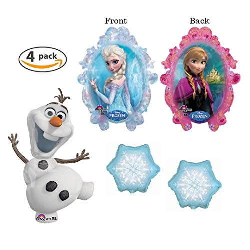 with Frozen Balloons design