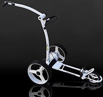 Caddy-golf carrito de golf eléctrico blanco conceder Batería de Litio: Amazon.es: Deportes y aire libre