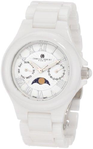 Charles-Hubert, Paris Men's 3872-W Premium Collection Ceramic Watch