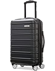 Samsonite Omni 2 Hardside Expandable Luggage with Spinner Wheels, Midnight Black, Carry-On 20-Inch