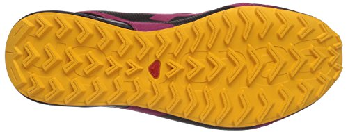 Black Salomon Carmine Gold Walkingschuhe Damen Yellow Pink City Cross UPwPR1WYq