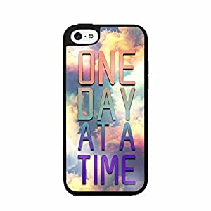 One Day At A Time TPU RUBBER SILICONE Phone Case Back Cover iPhone 4 4s