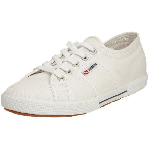 Superga Mixte-adulte 2950 Des Chaussures De Sport Cotu, Blanc Gris (900)