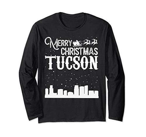 (Merry Christmas Y'all Tucson City Long Sleeve)