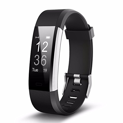 Fitness Tracker HR, I AM FIT Activity Tracker Watch and Heart Rate Monitor, WaterProof Touch Screen Smart Bracelet. Also…
