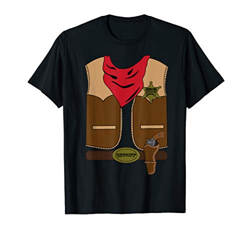 Western Cowboy Costume Outfit Shirt | Halloween