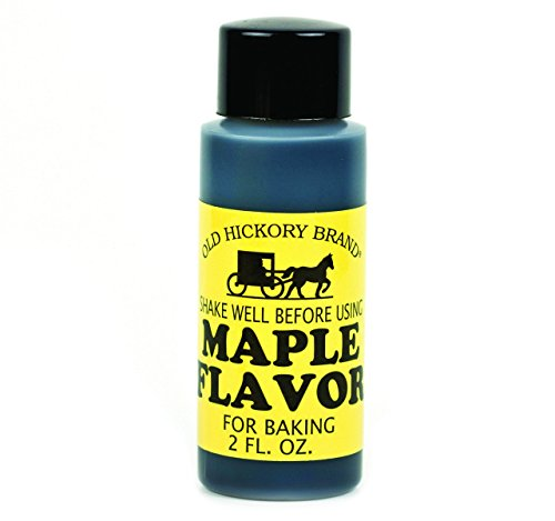 - Old Hickory Maple Flavoring, 2 Oz. Bottle (Pack of 2)
