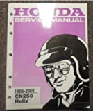 1986 1987 1992 Honda CN250 Helix Service Repair Shop Manual SECOND PRINTING