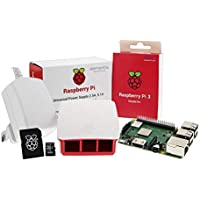 UCreate Raspberry Pi 3 Model B+ Desktop-Starter-Kit (16 GB, weiß)