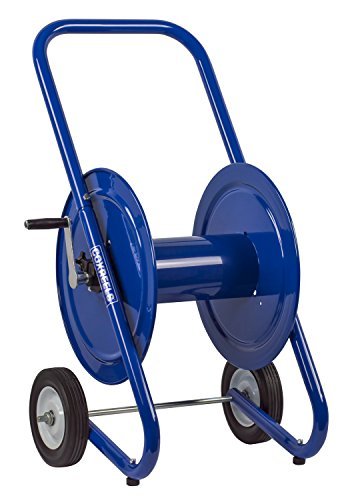 Coxreels 117-4-225-DM Dolly-Mount Hose Reel with Wheels, 4,000 PSI, Holds 1/2'' x 225' Length Hose, Hose Not Included by Coxreels