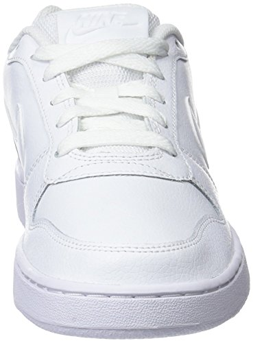 Ebernon NIKE Low Basketballschuhe White Weiß Damen 001 White 7aaq5x1Z