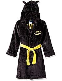 Big Boys' Batman Velvet Fleece Hooded Robe