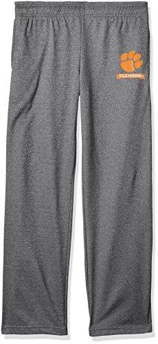 NCAA Clemson Tigers Men's Poly Fleece Pants, XX-Large, Dark Heather - Tigers Mens Pants