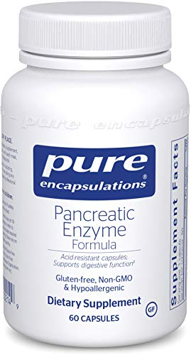 Cheap Pure Encapsulations – Pancreatic Enzyme Formula – Hypoallergenic Supplement to Support Proper Digestive Function* – 60 Capsules