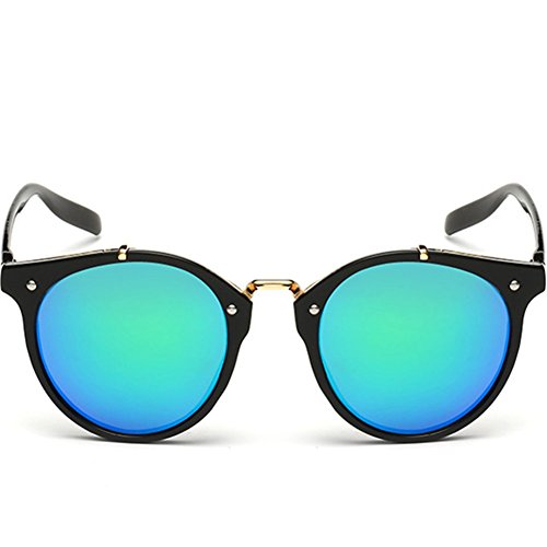 Hikote #8989 Women Full Mirrored Wayfarer Candy Summer Fashion Personality - Does Oakley Sunglasses Make Prescription