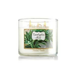 White Barn Eucalyptus Mint Three Wick Scented Candle 14.5 Oz