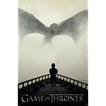 Game of Thrones - Tyrion Lannister & Dragon Poster Print (24 x 36)