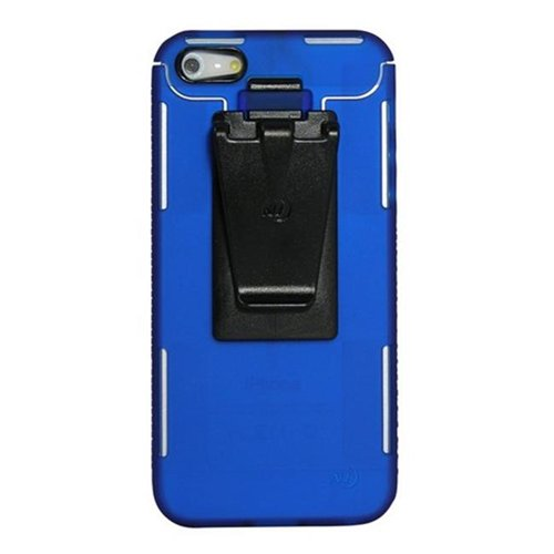 Nite Ize Connect Case For Iphone 5 Blue, Clear Boxed (blue)