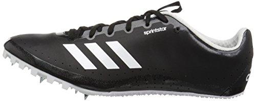 adidas Men's Sprintstar, Core Black/Orange/White, 8 M US by adidas (Image #5)