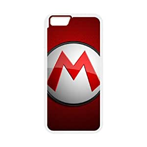 Mario logo iPhone 6s 4.7 Inch Cell Phone Case White gift z004hm-2315515