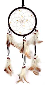 Imixlot Handmade Dreamcatcher Dream Catcher with Feathers Wall or Car Hanging Ornament Approx 13cm/ 5.12inch Diameter 48cm/18.9inch Long