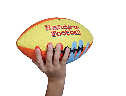 SportimeMax Hands-On Youth/Intermediate Size 7 Football, Multiple Colors from Sportime