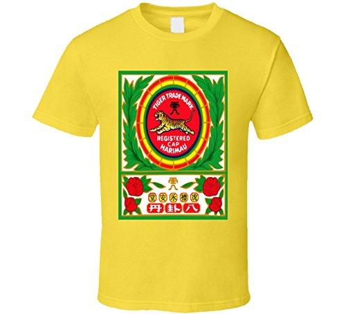 Tiger Balm Chinese Medicine Logo T Shirt L Daisy